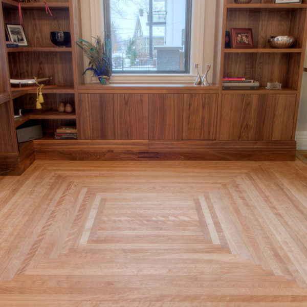 custom birch flooring