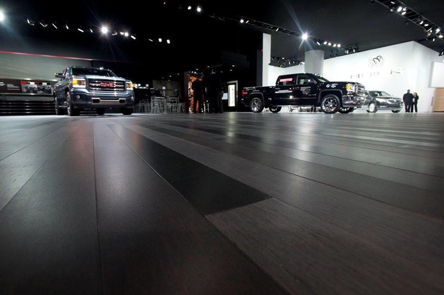 detroit autoshow floor
