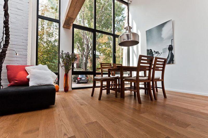plancher de bois naturel Solu Hardwood