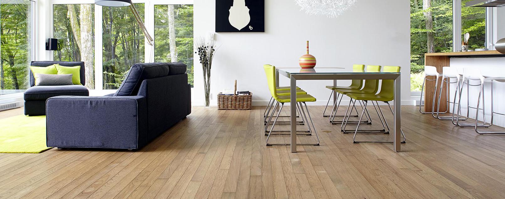 regular solid flooring